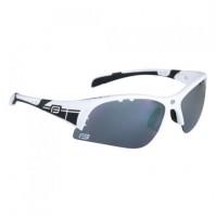 Okuliare FORCE ULTRA biele, čierne laser sklá