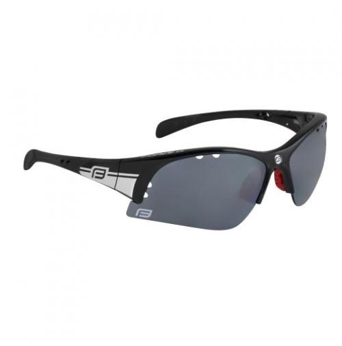 Okuliare FORCE ULTRA čierne, čierne laser sklá