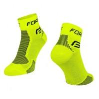 Ponožky FORCE 1 fluo-čierne