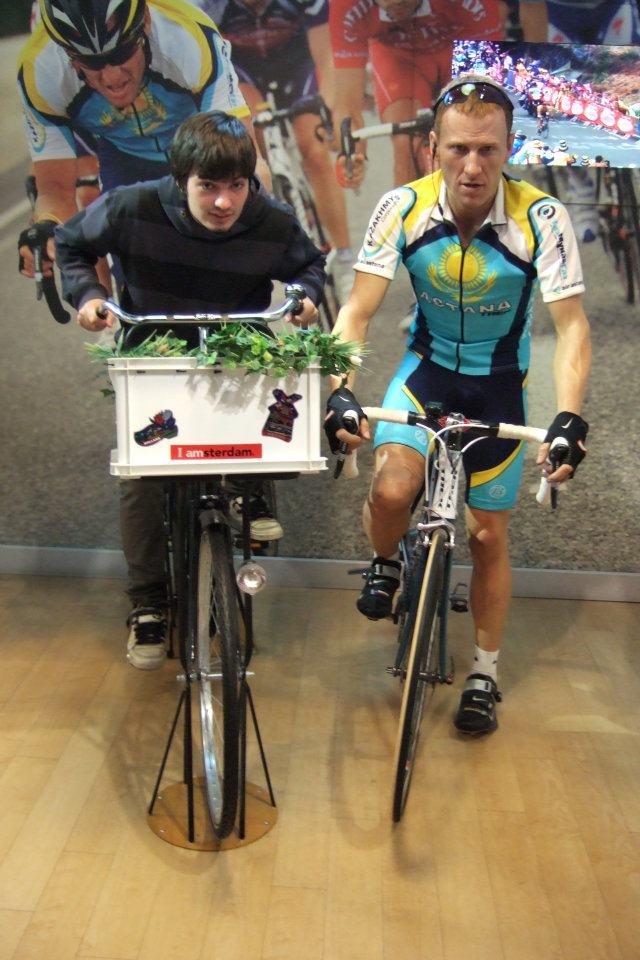 Lance Armstrong je bez šance ...
