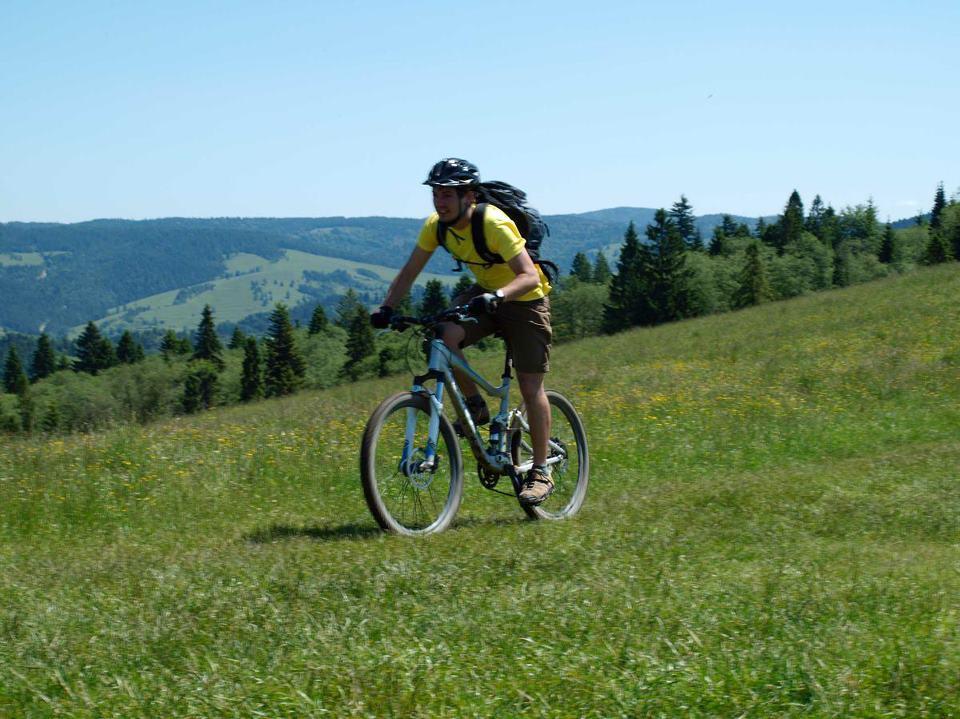 Rišo na cyklo výlete - s vetrom o preteky