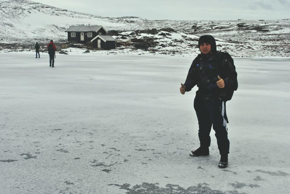 Celodenný výlet blízko Nórskeho Oppdalu